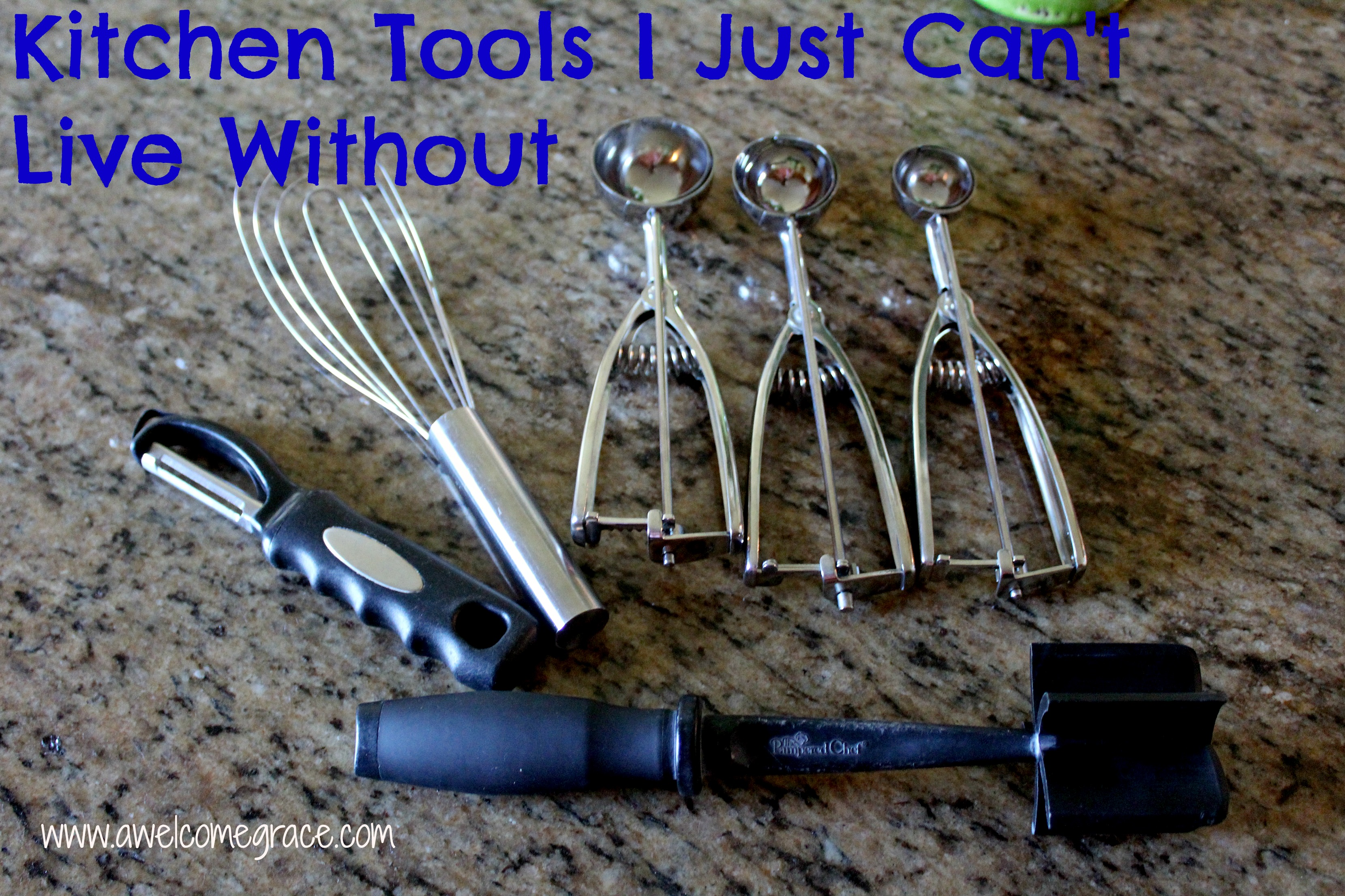 4 Kitchen Tools I Just Can't Live Without