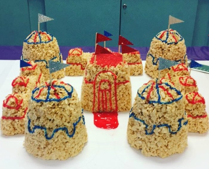 Making a Rice Krispy Castle in 21 Easy Steps