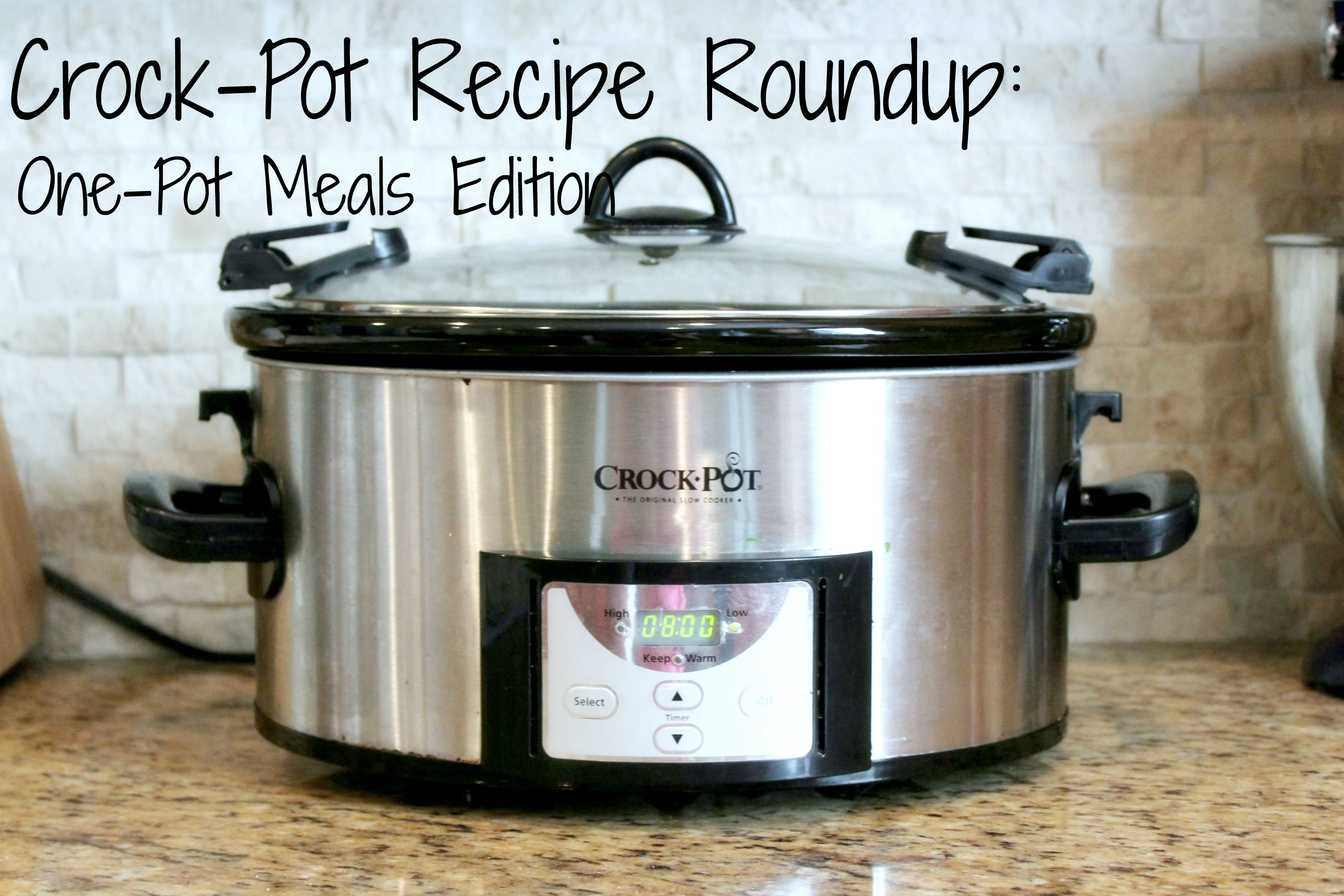 CrockPot Recipe Roundup: One Pot Meals Edition