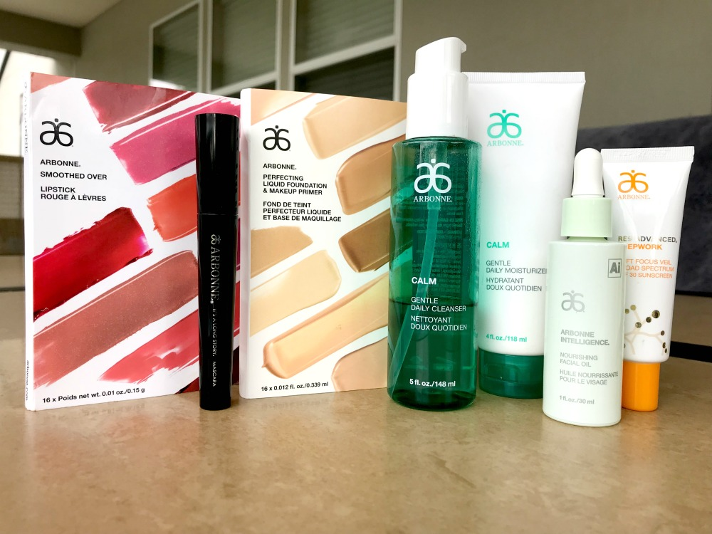 Giving Arbonne a Whirl
