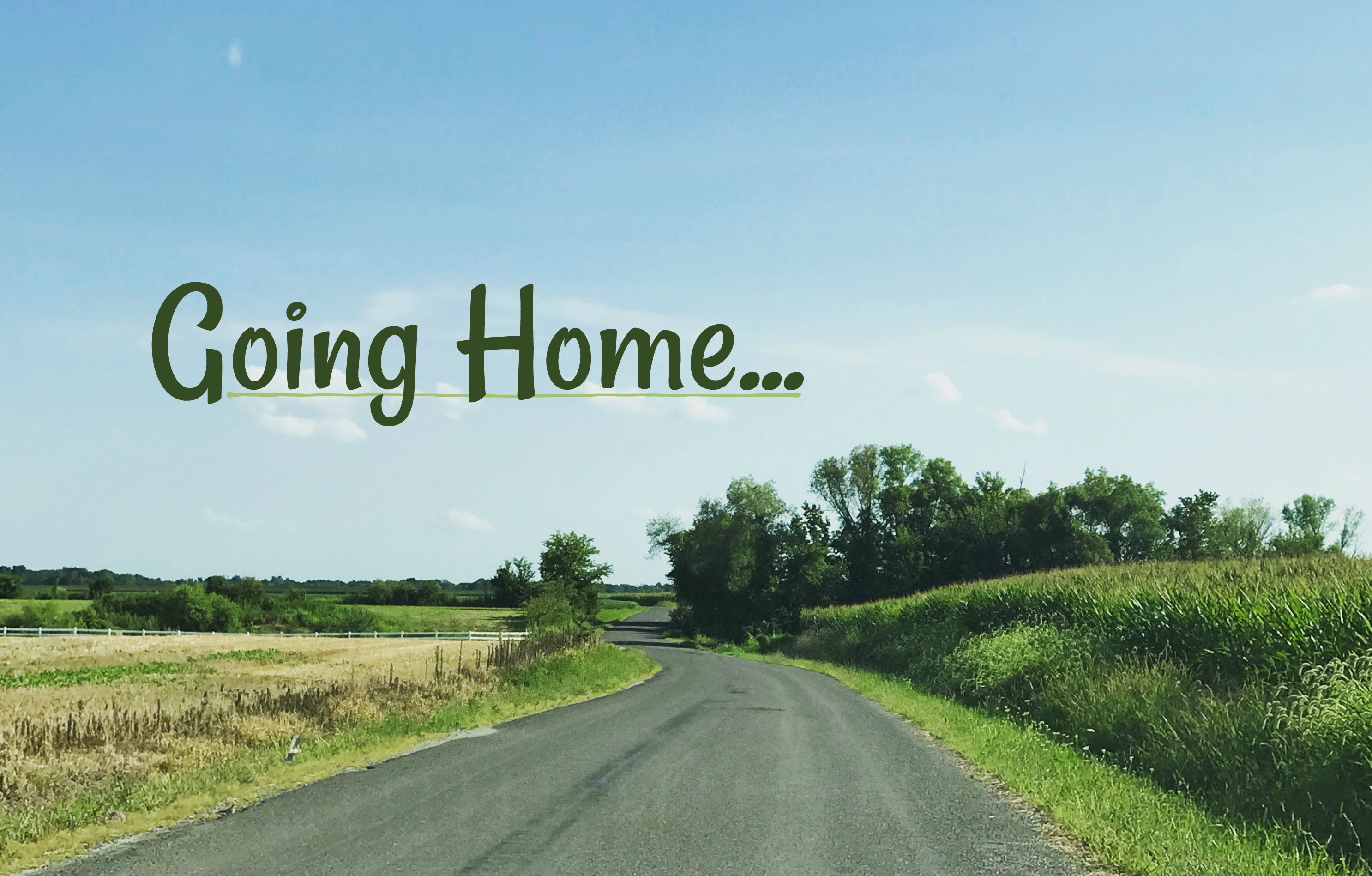 Going Home… With Love for Our Family Reunion