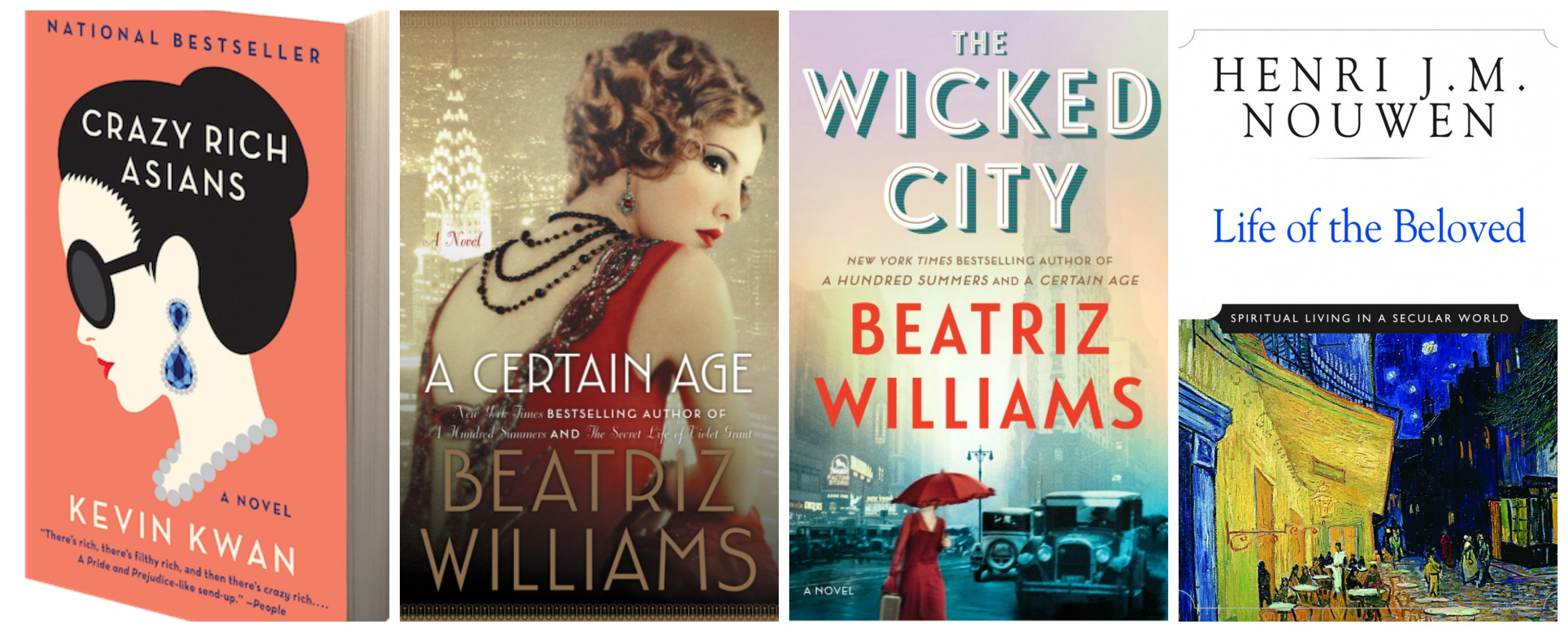 July Reads: Crazy Rich, Jazz Age, and Beloved