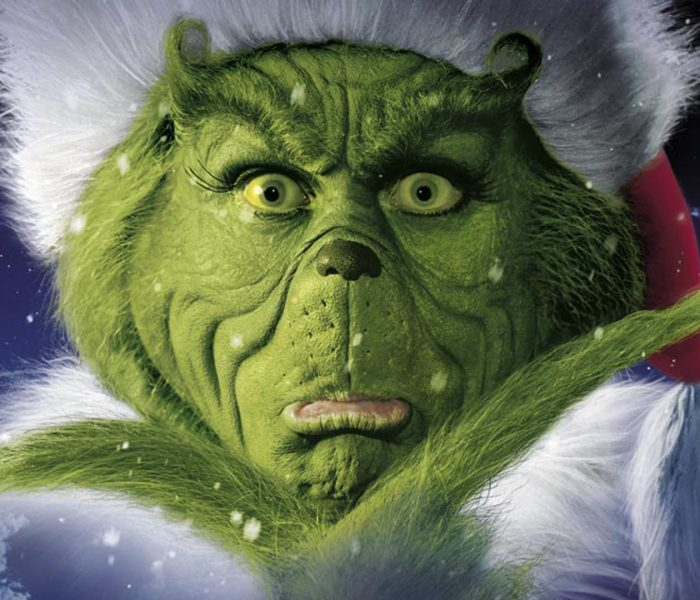 Oops! Pardon me, but my Grinch is showing.