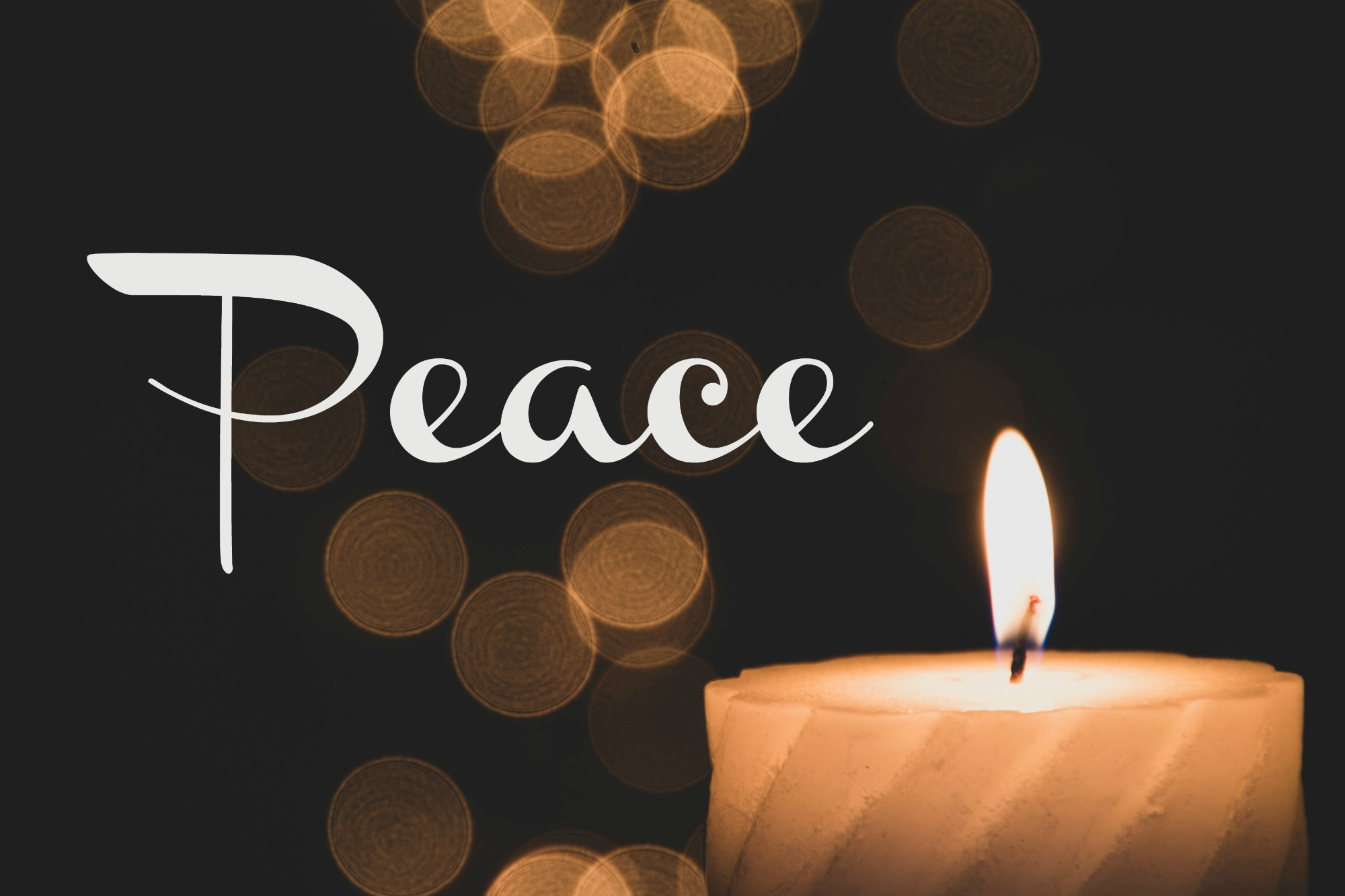 An Advent of Peace