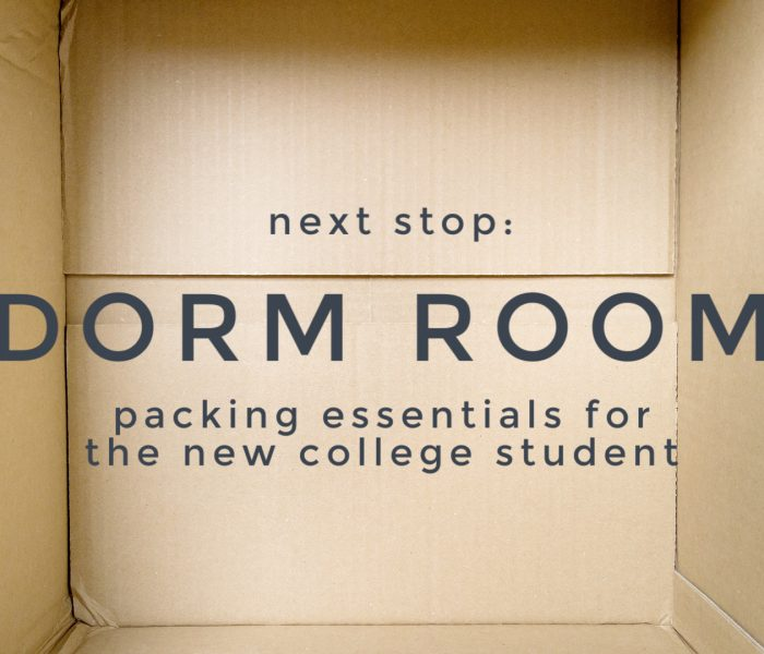 Next Stop: Dorm Room