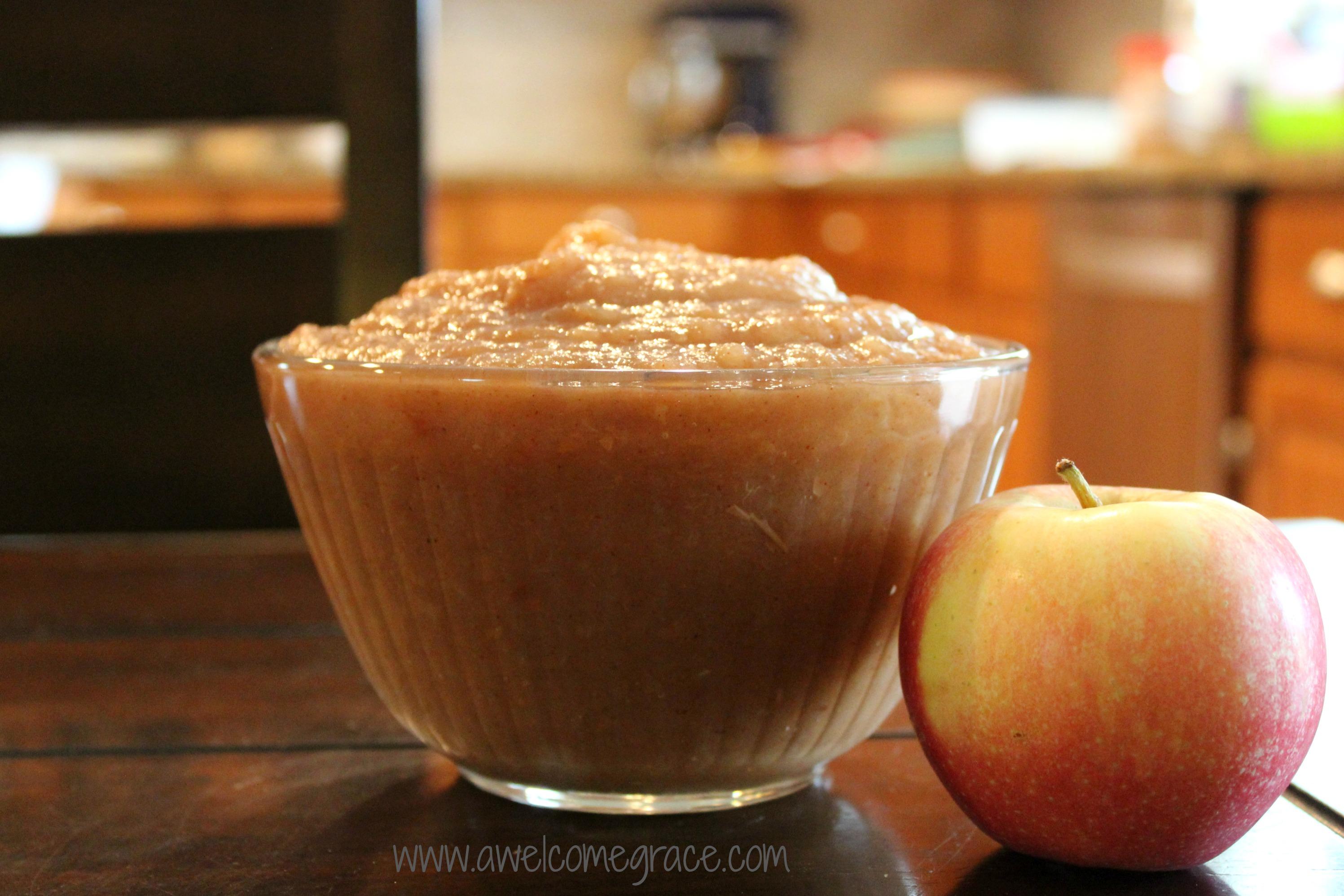 Slow Cooker Applesauce of My Dreams