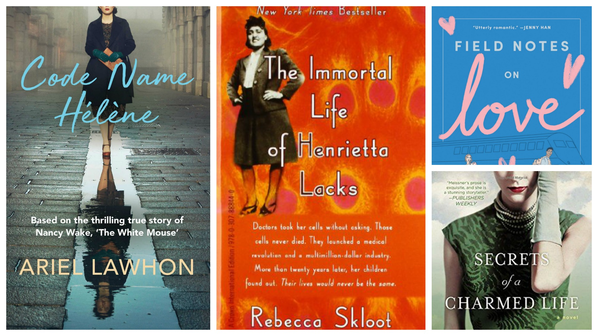 Spring Book Line-Up: Reading for Comfort